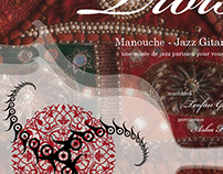 + Three Manouche Jazz Posters