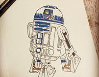 drawing Star Wars