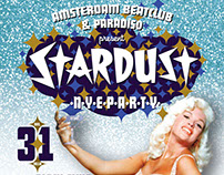 Poster/Flyer for Stardust NYE party by ABC at Paradiso