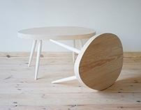 Coffee tables Scandinavian Style series