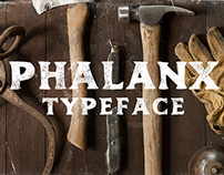 Phalanx Typeface - Now Available!
