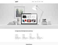 Hanna - Wordpress Portfolio Theme by: themezilla.com