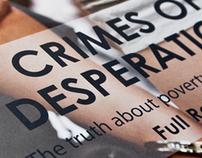 CRIMES OF DESPERATIONS Report