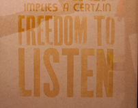 Freedom to listen