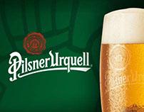 """Personalizzazione Pilsner Urquell for """"Stirling Pub"""""""