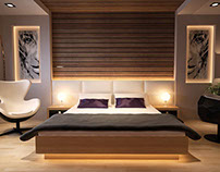 Master Bedroom - Private Residence -