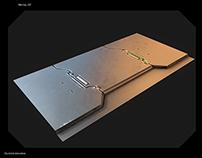 librairy metal SF quixel