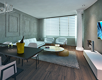 Apartment in Moscow_3d Visualization