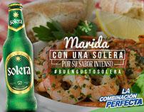 SOLERA / Piezas redes sociales La Combinación Perfecta