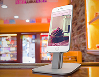 iPhone 6 at a Bakery