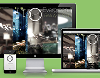 Evergreen Wellness - Responsive Webdesign