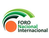 Infografía Institucional Foro Nacional Internacional
