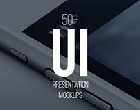 Responsive Screen App & Website Mockup