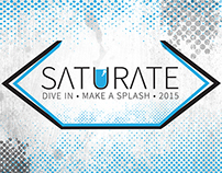 Saturate Logo and Graphics