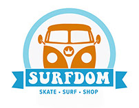 Surfdom: Branding & Identity