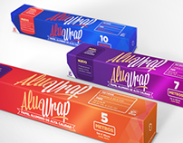 Alu Wrap proposed packaging & brand