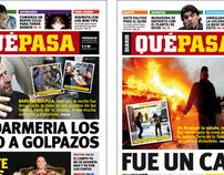 Diario QUÉ PASA - Diseño Editorial