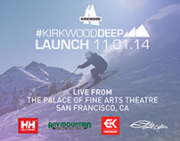 VIDEO: #KirkwoodDEEP Livestream Launch