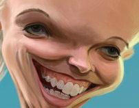 Caroline Wozniacki Caricature