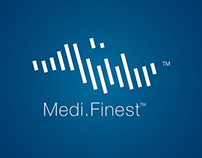 Brand identity design for Medifinest