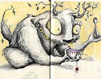 El Bosque — Un lugar de inventos — Sketchbook 2014