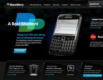 BlackBerry Homepage Concept