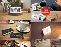 Free PSD Business Card Mockups