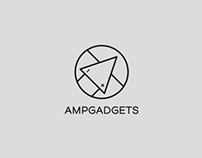 AmpGadgets Logo and Packaging