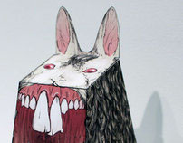 Illustration - Paper Toy