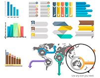 Infographic Vector Pack: Thousands Of Possibilities!