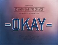 3D Vintage & Retro Creator