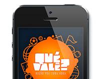 QuéValê? - sweepstake App