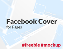 Facebook Cover Mockup for Pages (New UI) #FREE