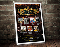 Tudors Arena & Pub Poster Design