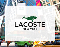 Crocodile Free / Lacoste — Out-of-home display