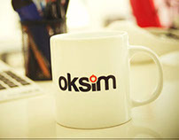 Oksim Electric & Electronic Logo Design