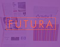 F U T U R A _ Paul Renner [typographic folder/poster]