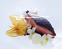 Quay Restaurant // Site Design