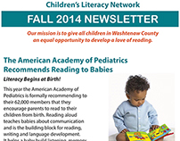 Children's Literacy Network - Newsletter