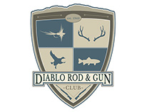 Logo Design- Diablo Rod & Gun Club