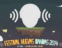 Flyers: Festival Nuevas Bandas 2014