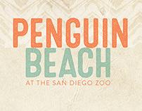 Penguin Beach at the San Diego Zoo