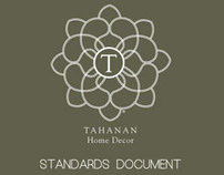 Tahanan Home Decor - Standards Document
