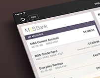 M&S Bank App