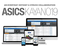 ASICS Kayano 19 Twitter Campaign Management Tool & Site