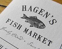 Hagen's Fish Market Website