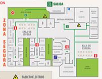 Planos de Evacuación CESFAM