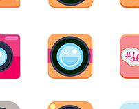 Selfie App Icon