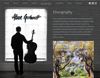 Alban Gerhardt — Identity and Website Design