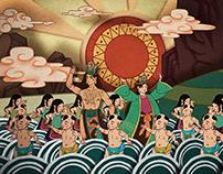 Hai Chau animated film